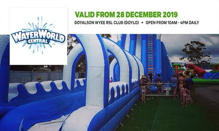 Two-Hour Unlimited Rides Pass: Little Dip 'n' Slip ($17.50) or Extreme Splash 'n' Slide ($27.50) at Waterworld Doyalson