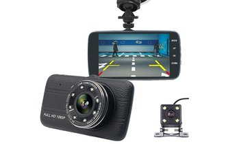 HD Front and Rear Dash Camera