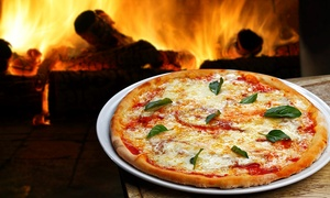 Black Oven Pizza: Dinner for Two or Four or Italian Food for Takeout at Black Oven Pizza (Up to 50% Off)