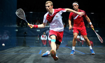 3 lezioni private di squash