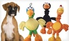 14'' Plush Chirpie Dog Toy: $6 for a 14'' Plush Chirpie Dog Toy in Black, Green, or Orange ($10.99 List Price). Free Returns.