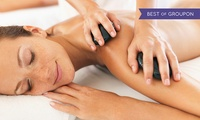 Hot Stone Body Massage with Elemis Facial at Peppermint Salon (69% Off)