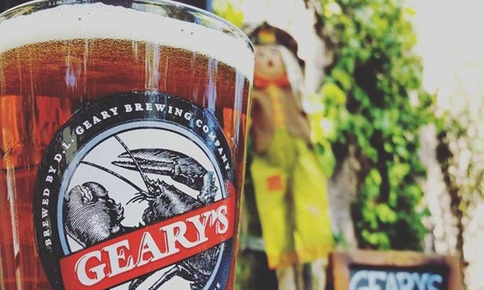 D.L. Geary Brewing Company - Riverton: Brewery Tour, Tasting Flight, and Souvenir Pint Glasses for Two or Four at D.L. Geary Brewing Company (43% Off)