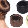 Bun Maker and Spiral Hair Pin Set