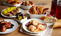 Six Tapas Dishes to Share for Two at ZUZiMO Bar Kitchen Tapas (39% Off)