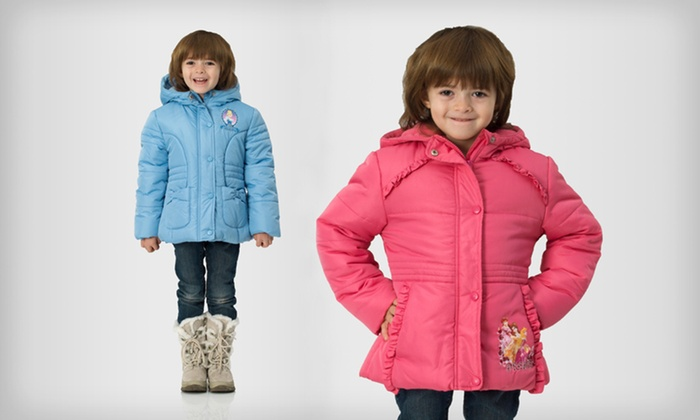 Girls' Disney Jackets: $19 for a Girl's Disney Jacket ($50 List Price). Multiple Sizes and Styles Available. Free Shipping and Free Returns.