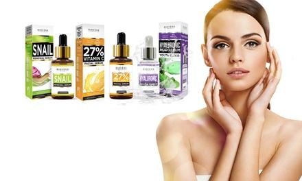 Packs de hasta 6 sérums Biovène para rejuvenecer la piel