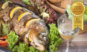 """סטלה ביץ - דג על הים: סטלה ביץ, דג על הים, חוף בת ים: ארוחה זוגית ב-99 ₪ או ארוחת דגים זוגית מפוארת רק ב-179 ₪. אופציה לרביעייה, גם בסופ""""ש!"""