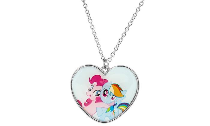 My little pony kids jewelry box groupon goods my little pony kids jewelry box with necklace aloadofball Gallery