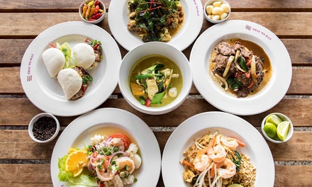 TwoCourse Thai Meal with Wine for Two $29, Four $58 or Six People $87 at Thai Wi Rat Up to $171.60 Value