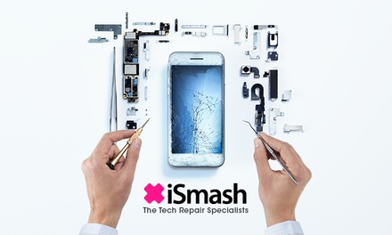 Screen Replacement for Choice of iPhone at iSmash, Multiple Locations