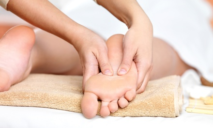 60-Minute Thai Foot Massage with 60-Minute Pedicure at Maria Pro Beauty (Up to 50% Off)