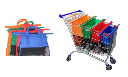 $29 for a Set of Four Reusable Trolley Shopping Bags