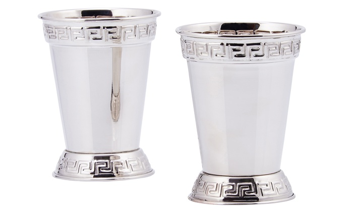 Derby Day Mint Julep Cups Set (2-Pack)