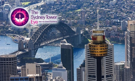 Sydney Tower Eye Entry: Child $16 or Adult $23.20 Ticket Up to $29 Value