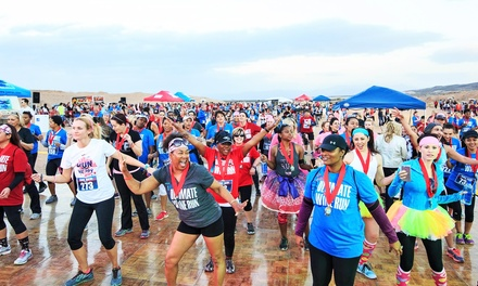 5K Registration Package for The Ultimate Wine Run for One, Two, or Four on April 1 (Up to 44% Off)