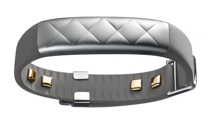 Jawbone UP3 Fitness-Armband in Silber