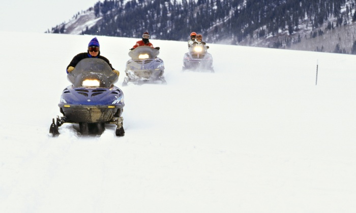 Cottage Country Tours - Cottage Country Tours: 90-Minute Snowmobile Tour for Two from Cottage Country Tours (50% Off)