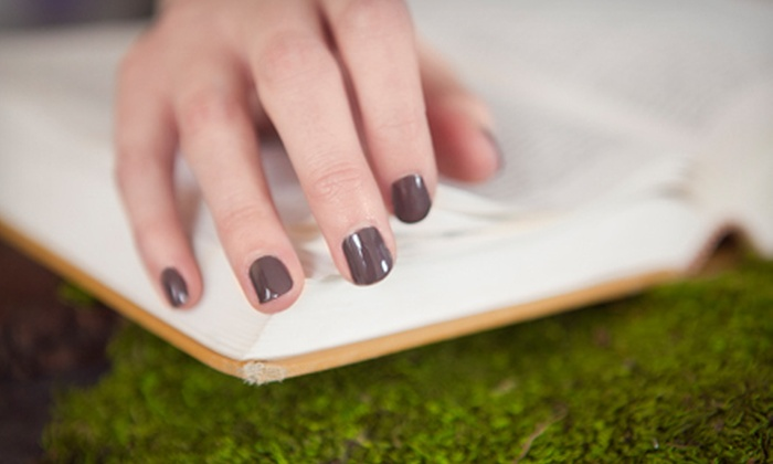 Blades of Columbia Salon & Day Spa - West Columbia: One or Two Eco-Chic Manicures and Pedicures at Blades of Columbia Salon & Day Spa (Up to 55% Off)