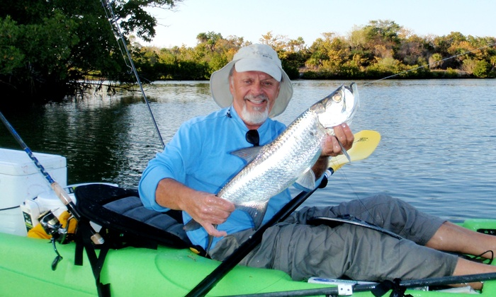 Adventures Kayaking - Bonita Water Tower: $99 for a Four-Hour Guided Fishing Trip from Adventures Kayaking ($250 Value)