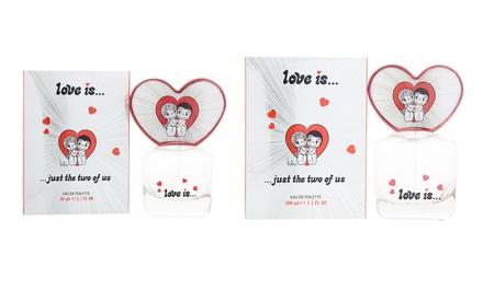 Love Is... Eau de Toilette 50ml or 100ml Spray