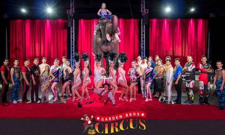 Garden Bros. Circus (November 13–19)
