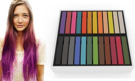 1, 2 ou 3 pack de craies pour coloration de cheveux éphémère