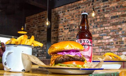 image for Burgers and Fries for Two or Four at Burger7 (Up to 34% Off)