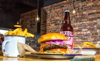 Burgers and Fries for Two or Four at Burger7 (Up to 34% Off)