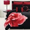 8-Piece Bold Bloom Comforter Set in Queen or King