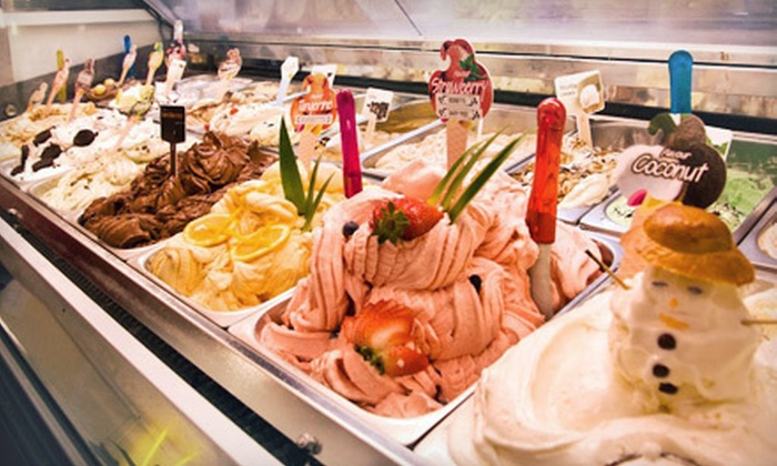 Ferli Gelateria & Coffee Shop - Flamingo / Lummus: Gelato, Coffee, and Baked Goods at Ferli Gelateria & Coffee Shop (Up to 63% Off). Two Options Available.