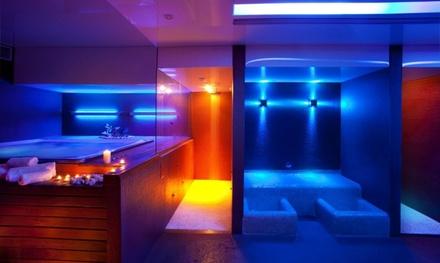 Circuito spa romántico privado para 2 personas con copa de cava y opción a masaje desde 49 € Spa Urbà d'Horta