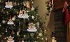 Christmas Elk Family Tree Decoration