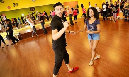 Five or Ten Salsa and/or Bachata Dance Classes at Elegant Rumba Dance Company (Up to 54% Off)