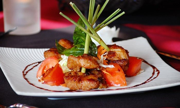 Chada Thai Fine Cuisine - Coquitlam: Authentic Thai Cuisine at Chada Thai Fine Cuisine in Coquitlam (Up to 56% Off). Two Options Available.