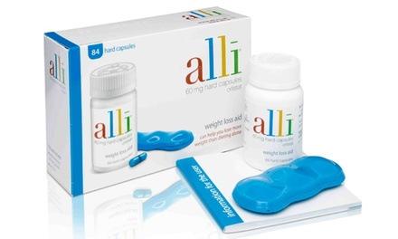 84 Alli Weight Management 60mg Capsules