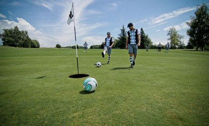 image for 18 Holes of Footgolf for One, Two or Four with Optional Soft Drink at Calverley Golf Club (Up to 59% Off)