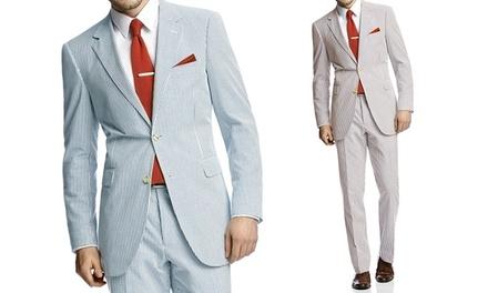 Renoir Mens 2-Piece Slim-Fit Suit