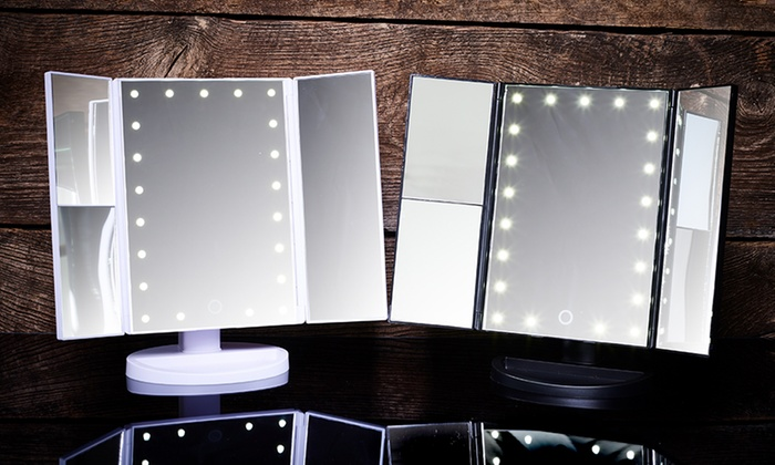 Specchi Con Luci Per Trucco.Specchio Per Make Up Con Luci Led Groupon