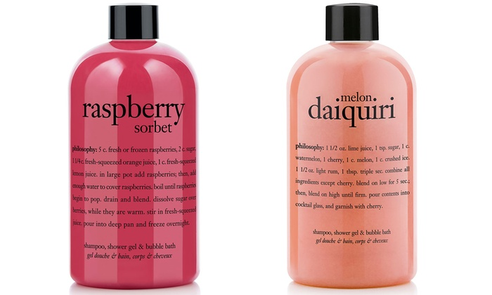 One or Two Philosophy Shower Gels 480ml