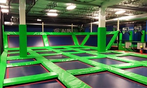 Rebounderz Lansdale: Two or Four One-Hour Jump Passes at Rebounderz Lansdale (38% Off)