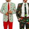 Shinesty Men's Ugly Christmas Sweater Suits