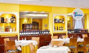 Ristorante Mediterraneo: Menu gourmet di 3 portate con specialità di carne o pesce e vino al Ristorante Mediterraneo (sconto 67%)