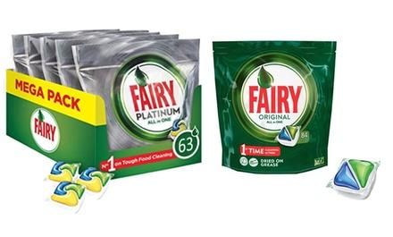 Capsule per lavastoviglie Fairy