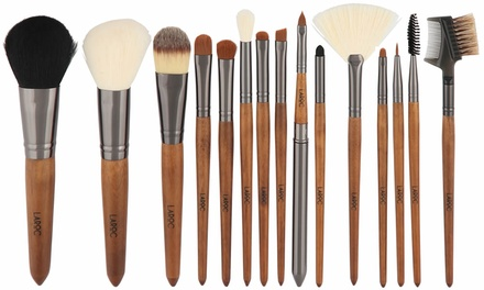 LaRoc Wood-Handled Brush Set