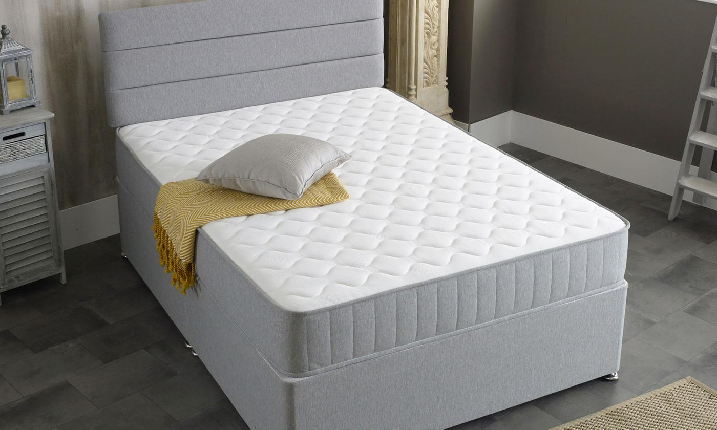 Micro Quilted Memory Foam Mattress in Choice of Size from £54.99 (86% OFF)