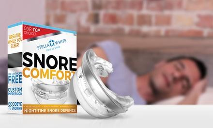 1 ou 2 gouttières anti ronflement Snore Comfort, avec adaptation de la mâchoire
