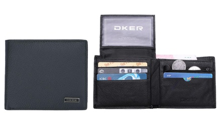 Genuine Leather DKER Wallet