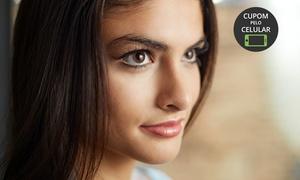 Fisioestetic - Unidade Wanel Ville: Fisio Estetic Wanel – Wanel Ville: micropigmentação de sobrancelhas 3D ou esfumada + design (opção com delineador)