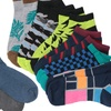 James Fiallo Men's Cushioned All-Support Socks (12-Pack)